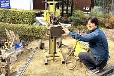 地盤調査・土質試験